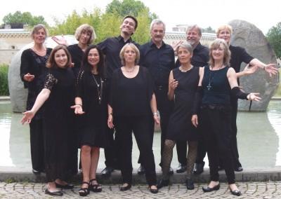 Chor im Klenzepark