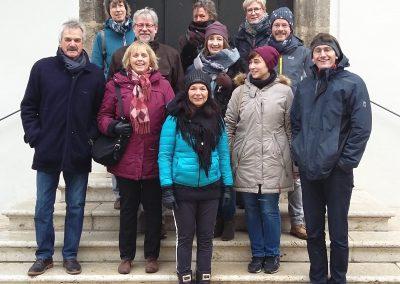 2017: Der Chor auf der Nördlinger Rathaustreppe