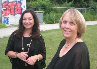 Claudia und Yvonne