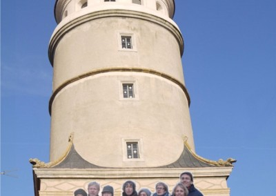 2016: singINpool vor dem Löpsinger Tor
